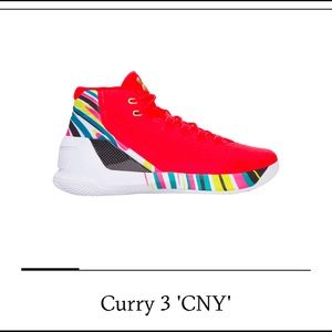 Limited Edition Under Armour Curry 3 CNY